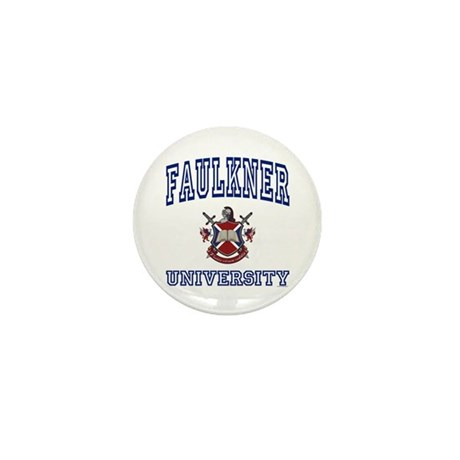 FAULKNER University Mini Button