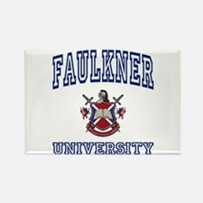 FAULKNER University Rectangle Magnet