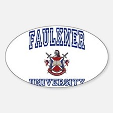 FAULKNER University Oval Decal
