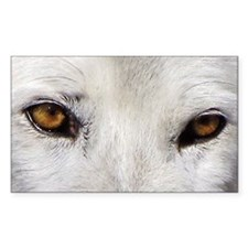 WOLF WHITE Decal