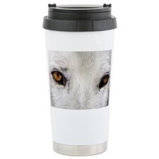 WOLF WHITE Travel Mug