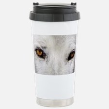 WOLF WHITE Travel Mug