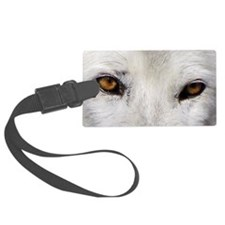 WOLF WHITE Luggage Tag