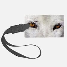WOLF WHITE Luggage Tag