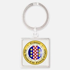 Exchequer OR Square Keychain