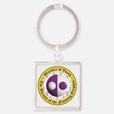 MOY Square Keychain