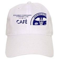 Zombie Coroner Cafe 300 Baseball Cap
