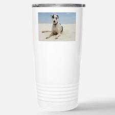 GD beach calendar Stainless Steel Travel Mug