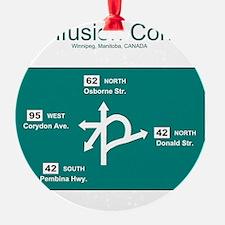 10x10 ConfusionCorner Ornament