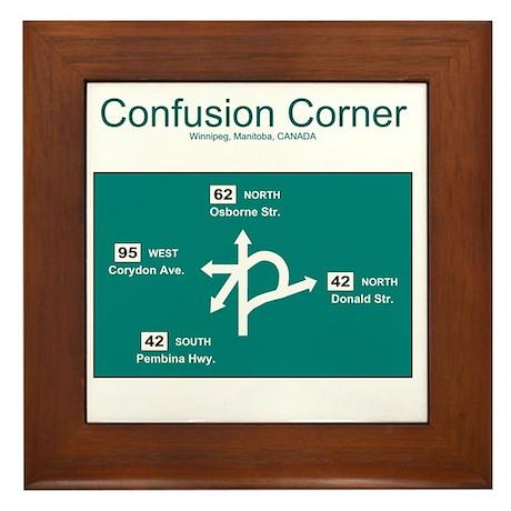 10x10 ConfusionCorner Framed Tile