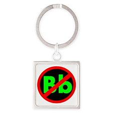 7-Bb Square Keychain