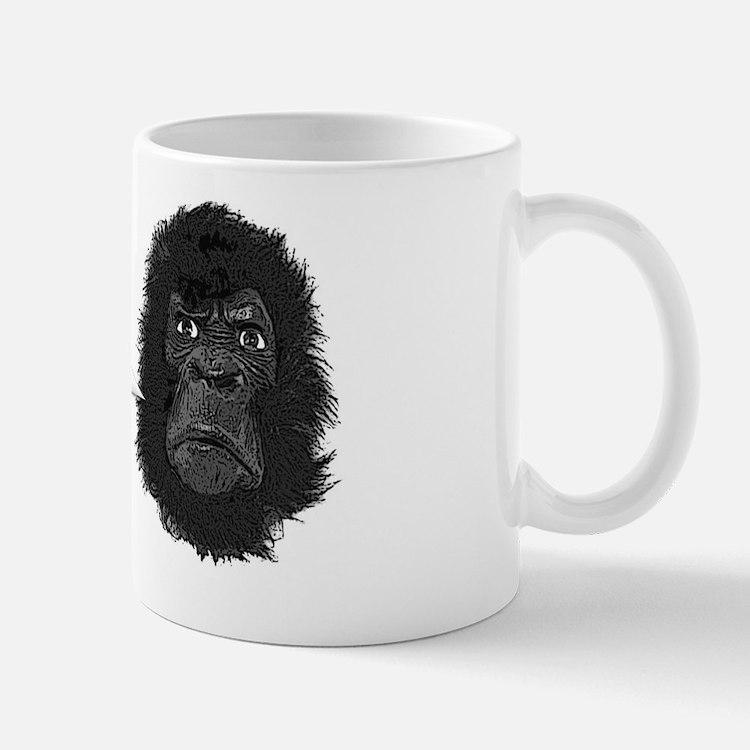 gorilla-mask-art Mug