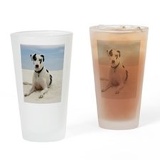 GD beach ipad Drinking Glass