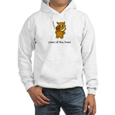 Year of the Boar (picture) Hoodie
