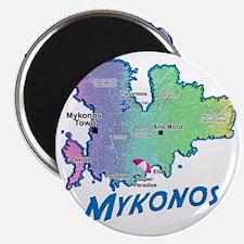 mykonos_t_shirt_map Magnet