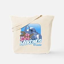 mykonos_t_shirt_paraportiani Tote Bag