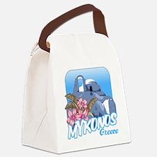 mykonos_t_shirt_paraportiani Canvas Lunch Bag