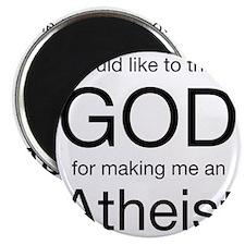 god atheist Magnet