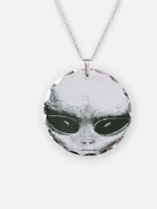 Area 51 Alien Logo Necklace