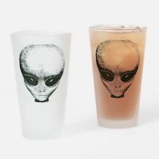 Area 51 Alien Logo Drinking Glass
