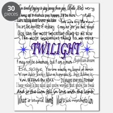 Twilight Quotes Puzzle