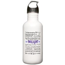 Twilight Quotes Water Bottle