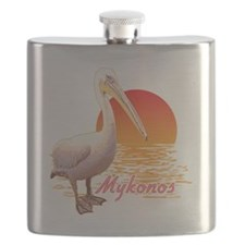 mykonos_pelican_t_shirt Flask