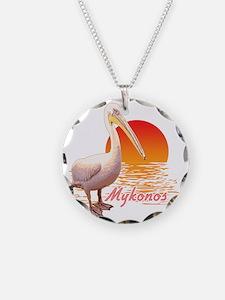 mykonos_pelican_t_shirt Necklace