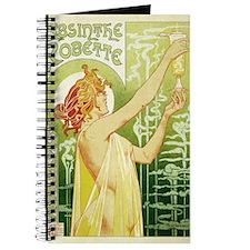 absinthe Robette 11x17 Journal