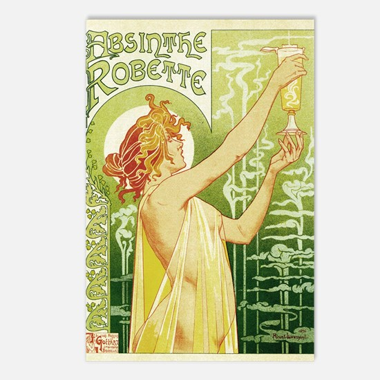 absinthe Robette 11x17 Postcards (Package of 8)