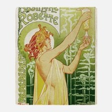absinthe Robette 11x17 Throw Blanket