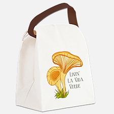 La Vida Verde Canvas Lunch Bag