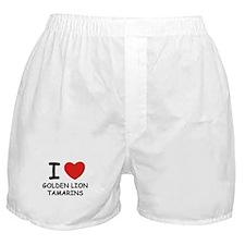 I love golden lion tamarins Boxer Shorts