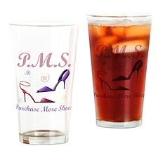 PMS Dark Drinking Glass