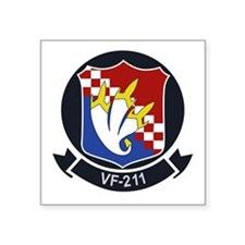 "vf-211 Square Sticker 3"" x 3"""
