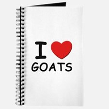 I love goats Journal