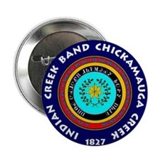 "2-Seal of the Indian Creek Band2 2.25"" Button"