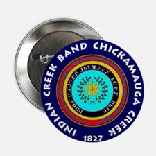 """2-Seal of the Indian Creek Band2 2.25"""" Button"""