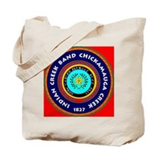2-Seal of the Indian Creek Band2 Tote Bag