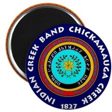 2-Seal of the Indian Creek Band2 Magnet