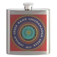 2-Seal of the Indian Creek Band2 Flask