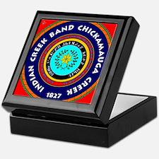2-Seal of the Indian Creek Band2 Keepsake Box