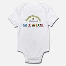 Family Connections Infant Bodysuit