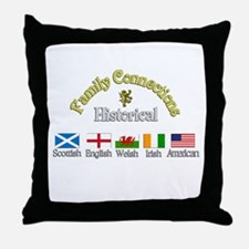 Family Connections Throw Pillow