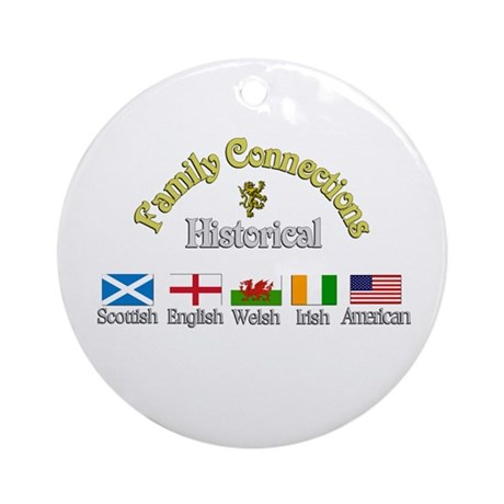 Family Connections Ornament (Round)
