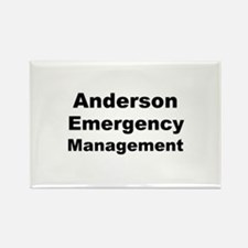 Cute Emergency management Rectangle Magnet