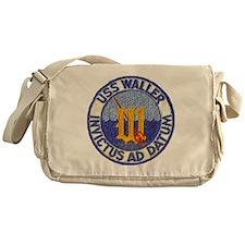 waller dd patch transparent Messenger Bag