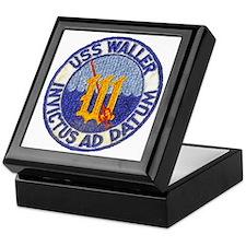waller dd patch transparent Keepsake Box