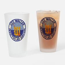waller dd patch transparent Drinking Glass