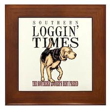 Logger's Best Friend Framed Tile